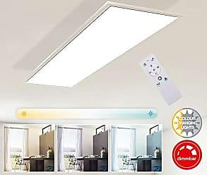 LED Wand Lampen drehbar Wohn Raum RGB Strahler Fernbedienung Glas Spots dimmbar