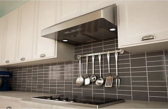 Zephyr 36W in. Gust Under Cabinet Range Hood with Baffle Filters - AK7136AS-BF