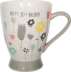 Pavilion Gift Company 74048 30th Birthday Ceramic Mug, 16 oz, Multicolored