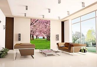 Ideal Decor Cherry Trees Wall Mural - DM385