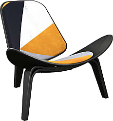 NyeKoncept Nyekoncept Shell Orange Angular Accent Chair - 14000763
