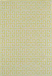 Kaleen Rugs Lily & Liam Collection LAL03-28 Yellow Machine Tufted Rug, 5 x 7