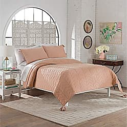 Ellery Homestyles Marble Hill 15788BEDDQUEDUR Nadia 92-inch by 96-Inch 3-Piece Queen Quilt Set, Dusty Rose