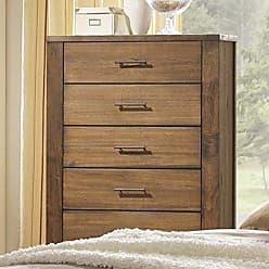 Progressive Furniture B104-14 Brayden Chest, 34 x 17 x 48, Brown