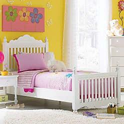 Hillsdale Furniture Hillsdale Furniture 1528BFR Lauren Post Bed Set with Rails, Full, White
