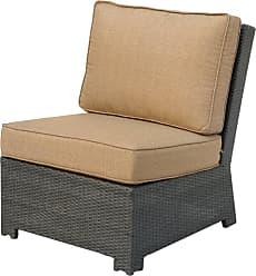DARLEE Outdoor Darlee Vienna Wicker Center Sectional Chair - 501215-2/102