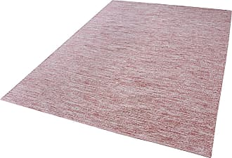 Dimond Home Alena Handmade Cotton Rug In Marsala And White - 8ft x 10ft