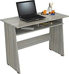 Inval America Inval ES-10503 Writing Desks, Smoke Oak