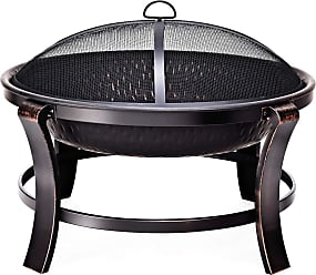 Costway 30 Outdoor Fire Pit BBQ Portable Camping Firepit Heater