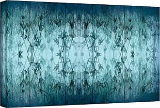 ArtWall Cora Niele Coincident Series V Gallery Wrapped Canvas Artwork, 8 by 24-Inch