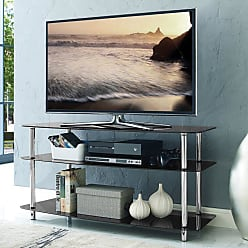 Home Source Industries 45 in. Glass TV Stand - DR-8145