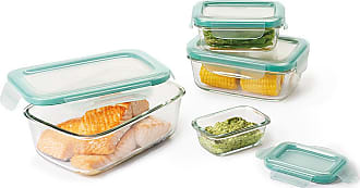 Oxo Good Grips 8 Piece SNAP Glass Rectangle Container Set
