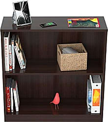 Inval America BE-3104 2 Shelf Bookcase/Hutch