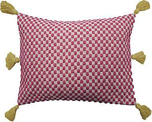 Ellery Homestyles WAVERLY Key of Life Woven Pillow 14 x 20 Jubilee
