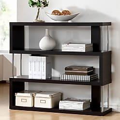 Baxton Studio Barnes 3 Shelf Bookcase - FP-3D