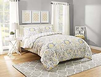 Ellery Homestyles Marble Hill Rayna Comforter Set, Queen, Grey
