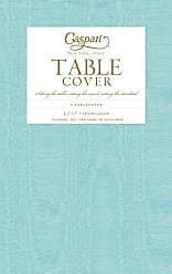 Caspari Entertaining With Caspari Moire Printed Paper Table Cover, 54 By  84 Inch,