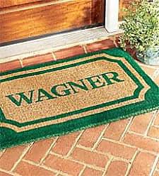 Geo Crafts 24x 39Personalized Doormat, in Green