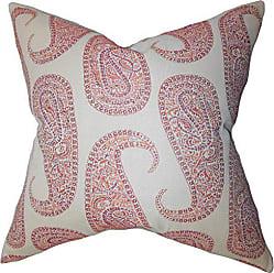 The Pillow Collection Amahl Paisley Bedding Sham Orange Standard/20 x 26