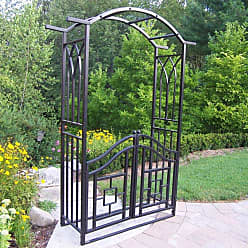 Oakland Living Royal Arbor with Gate - 5023-BK