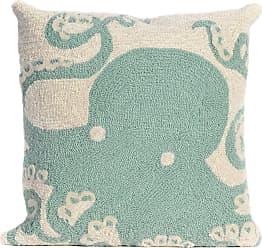 Liora Manne Frontporch Octopus Indoor/Outdoor Pillow Orange - 7FP8S143217