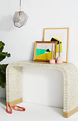 Anthropologie Waterfall Inlay Console Table