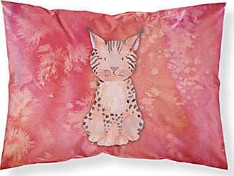 Carolines Treasures Foxes Bathing Watercolor Pillowcase Standard Multicolor