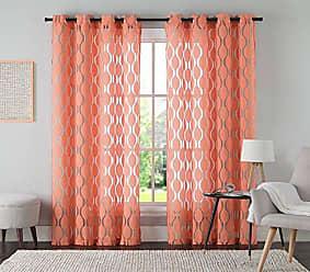 VCNY Home VCNY Home Aria Window Curtain, 54x95, Chocolate