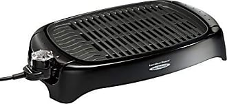 Hamilton Beach Electric Indoor Grill, Less Smoke, Easy Clean 125 sq. in, Black (31605N)