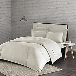 Urban Habitat Comfort Wash Duvet Cover King/Cal King Size - Ivory, Solid Duvet Cover Set - 3 Piece - 100% Cotton Light Weight Bed Comforter Covers