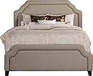 Hillsdale Furniture 1933BKR Carlyle King Bed Light Taupe