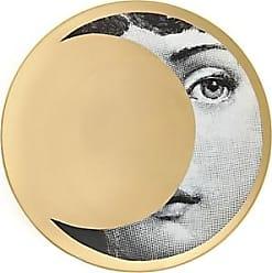 Fornasetti Theme & Variations Plate No. 39 - Black, White, Gold