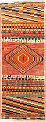 Nain Trading Authentic Ghashghai Rug 54x21 Brown/Orange (Wool, Iran/Persia, Hand-Knotted)