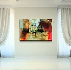 Ready2HangArt Abstract Landscape II Modern Contemporary Canvas Wall Art Print, 30 x 40, Multi Color