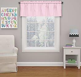 Ellery Homestyles Eclipse Kids 15503042X018PNK Microfiber 42-Inch by 18-Inch Room Darkening Window Valance, Pink
