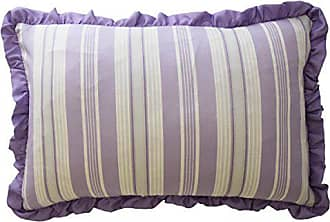 Ellery Homestyles Waverly Kids 16436012X018PUR Ipanema 12-Inch by 18-inch Striped Decorative Accessory Pillow, Purple