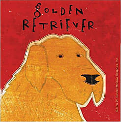 Thirstystone Occasions Coaster, Golden Retriever, Multicolor