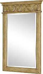 Elegant Lighting Vanity Mirror 25 x 36 Antique Beige