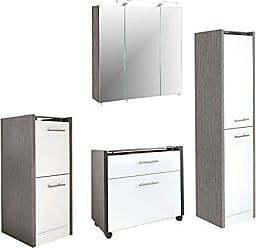 Badezimmermöbel holz weiß  Badezimmermöbel − Jetzt: ab 33,90 € | Stylight