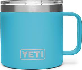 Yeti Reef Blue 14 Oz Rambler Mug