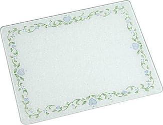 Corelle 92016CALH Corelle Callaway 20 x 16 Counter Saver Tempered Glass Cutting Board