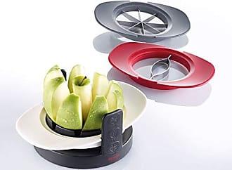 Westmark 51112260 Divisorex Coupe-pommes et poire avec plateau de coupe en aluminium et acier inoxydable