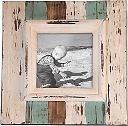 Foreside Home And Garden Foreside Home & Garden 5X5 Shoreline Frame, White