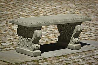 Campania International Outdoor Campania International Classic Garden Bench Ferro Rustico Nuovo - BE-115-FN