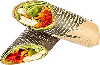 Restaurantware Greaseproof Paper Food Wrap, Basket Liner, Sandwich Wrap, Deli Paper - Mexican Agave - 12 x 12 - 500ct Box - Restaurantware