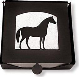 Village Wrought Iron 7.25 Inch Horse Napkin Holder