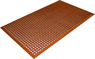 Guardian Floor Protection Safety Rubber Floor Mat Terra Cotta, Size: 3 x 5 ft. - 54030501TC