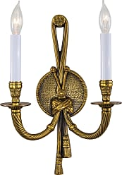 Metropolitan N681B Two Light Wall Sconce in French Gold finish with None