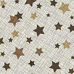Lar Adesivos Papel de Parede Infantil Estrelas Adesivo Lavável N4154