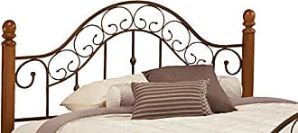 Hillsdale Furniture Hillsdale Furniture 310HFQR San Marco Headboard with Frame, Full/Queen, Brown Copper